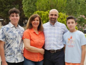 Picture of the Botros family